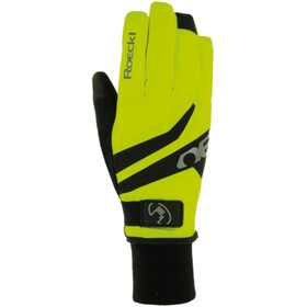 Roeckl Rocca GTX Bike Gloves yellow/black